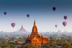 Temples et montgolfières à Bagan