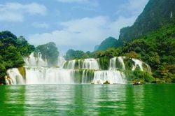 Les cascades de Ban Gioc