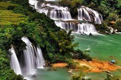 Cascades en pleine nature à Cao Bang