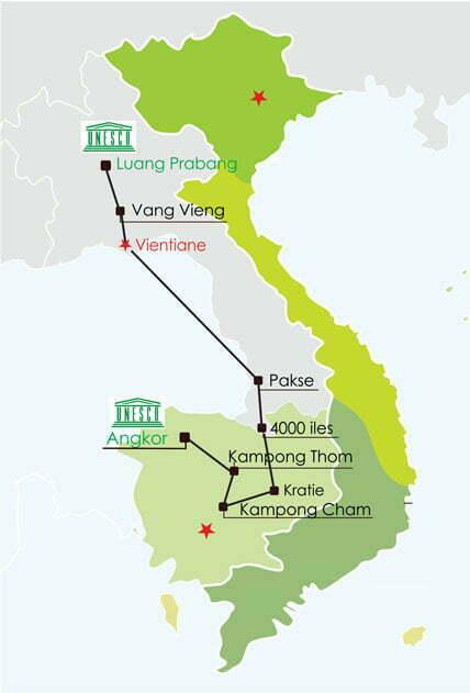Combiné Cambodge Laos 18 jours