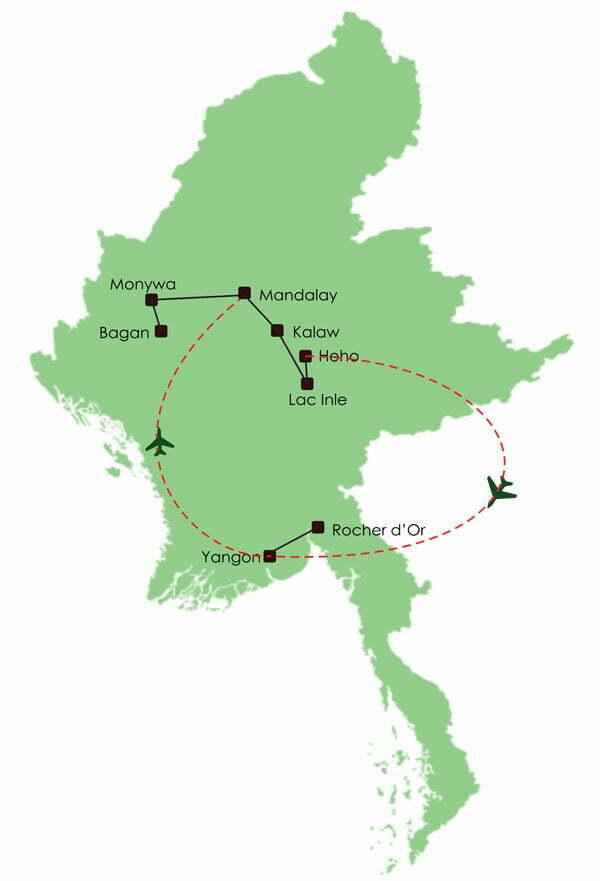 Circuit en Birmanie 14 jours