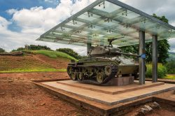 Tank esposé à Dien Bien Phu