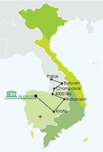 Circuit Laos Cambodge 14 jours