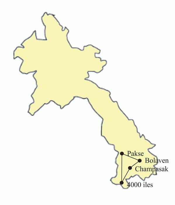 Circuit Laos 5 jours - Eaux et lumieres sud laos