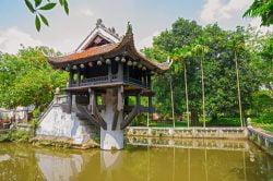 Hanoi pagode à pilier unique Vietnam