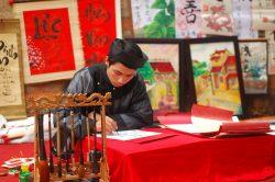 Hanoi calligraphie Vietnam