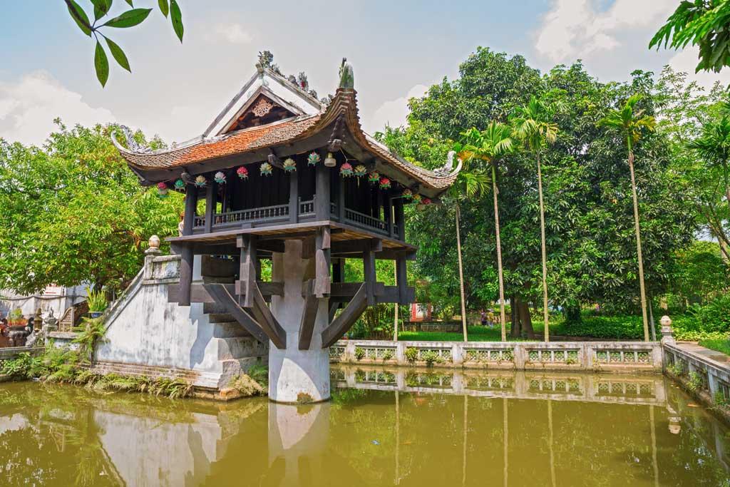 Le pagode au pilier unique d'Hanoi