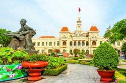 Du vert des de belles demeures Ho Chi Minh