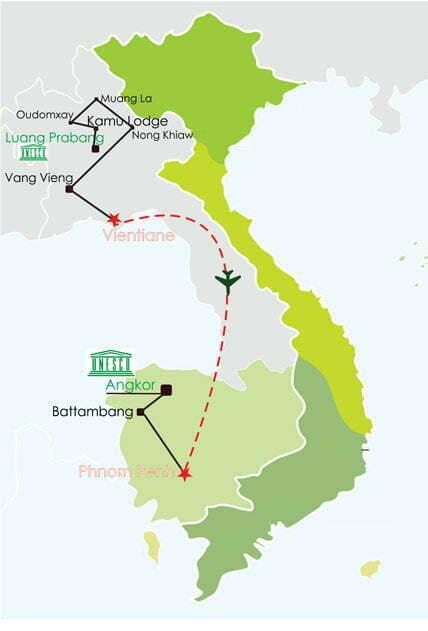 Circuit Laos Cambodge 20 jours - Laos ethnies, Cambodge rural et must Angkor