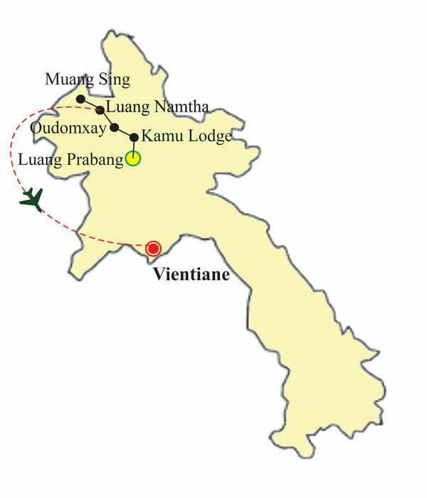 Circuir Laos 10 jours - les ethnies du Laos