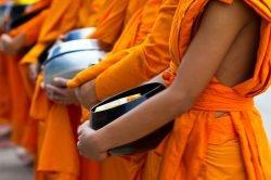 luang prabang Laos moines