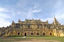 palais sculpté à myingyan