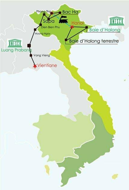Circuit Vietnam Laos 18 jours - Naturel et authentique Vietnam Laos