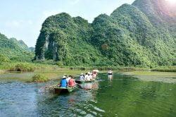 Visite de Ninh Binh en barque