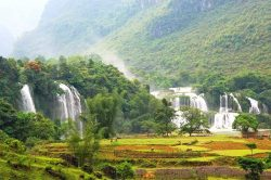 pu luong cascade dans la campagne