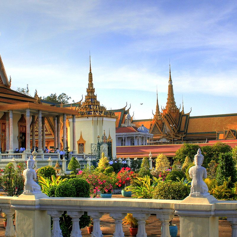 temples phnom pehn cambodge