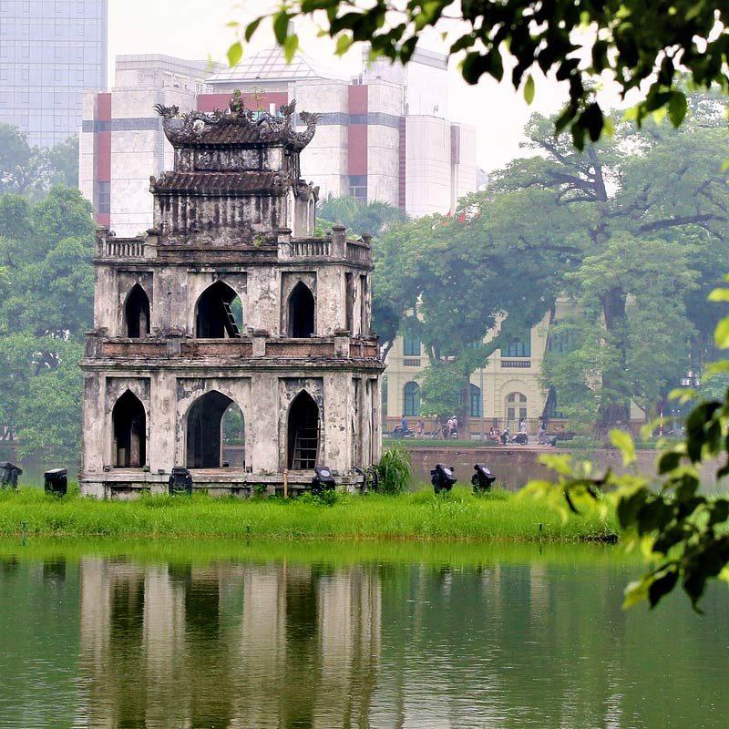 Capitales d'Indochine hoan kiem hanoi vietnam