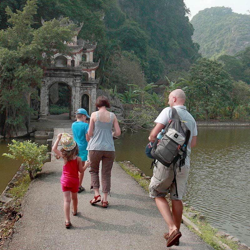 Famille au Vietnam, Ninh Binh