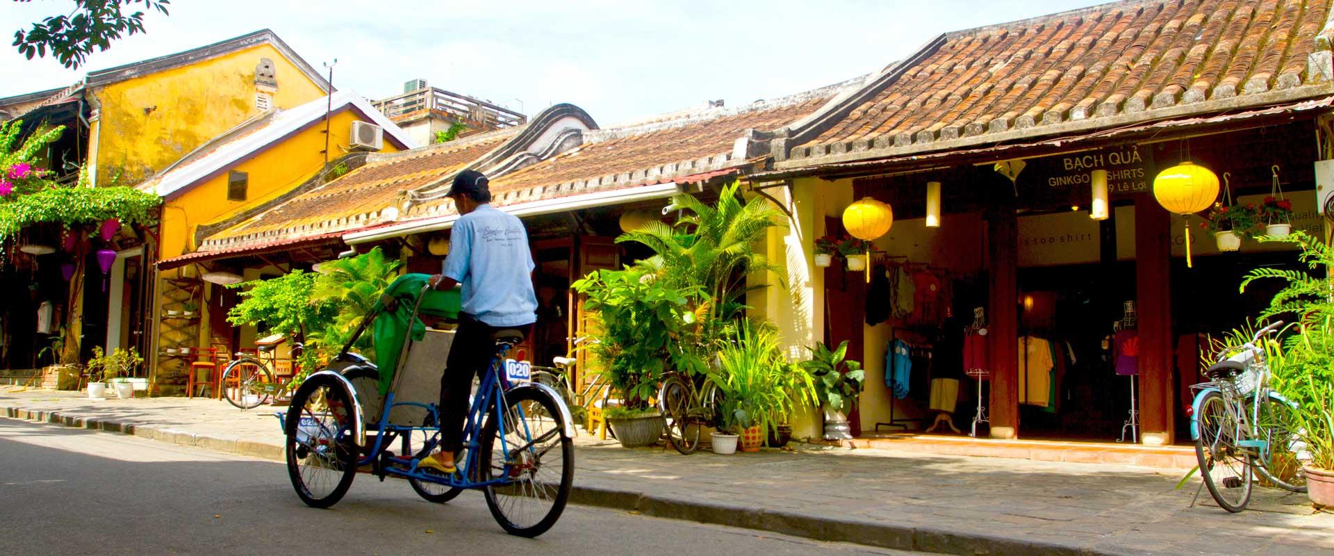 Hoi An maisons jaunes Vietnam