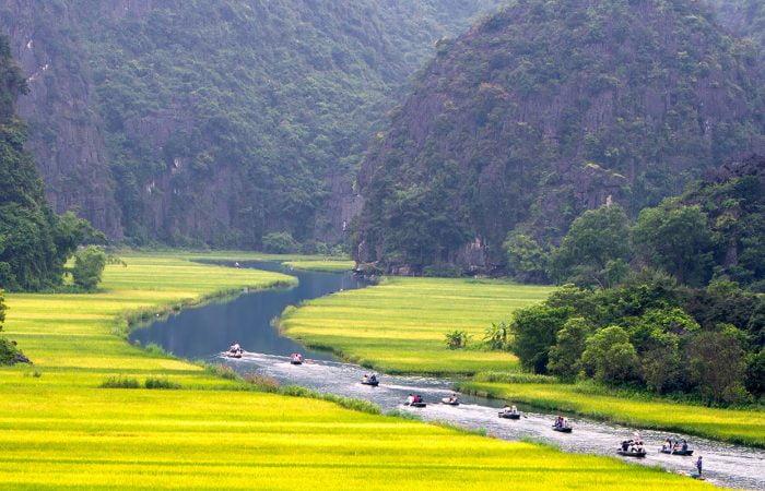 Les Barques à Ninh Binh Vietnam