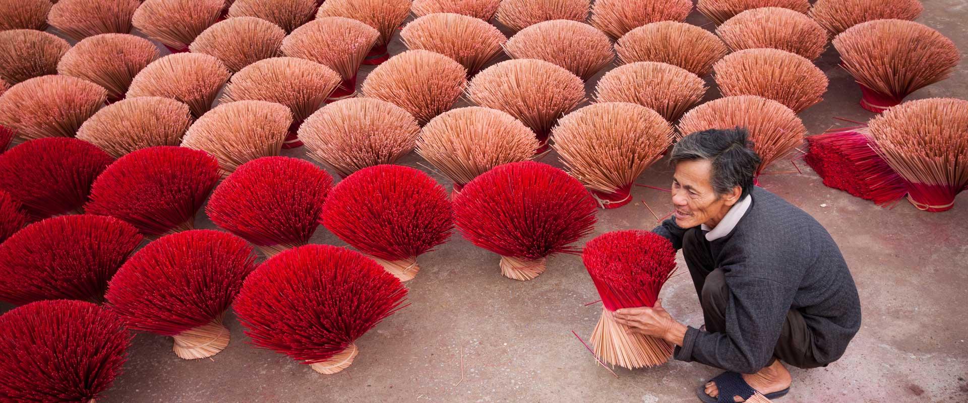 travail artisanal Vietnam