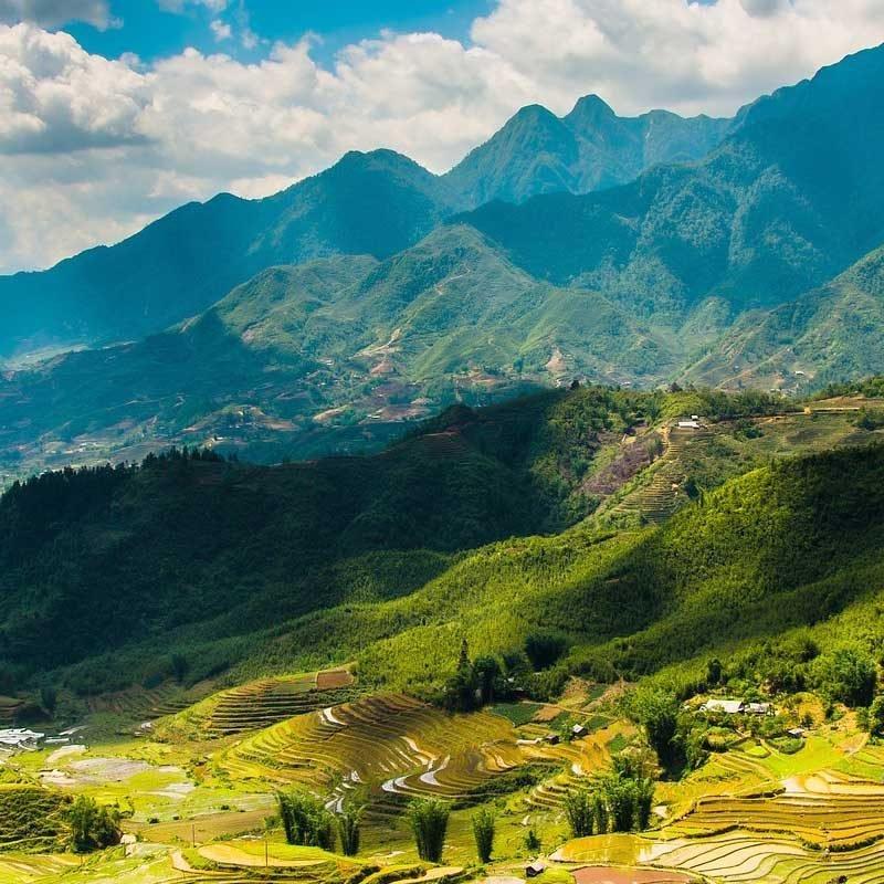 Sapa Vietnam montagnes
