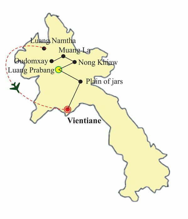 Circuit Laos 13 jours - Trek dans l'est et nord du Laos