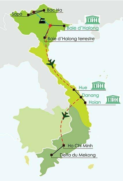 Circuit Vietnam en famille 15 jours