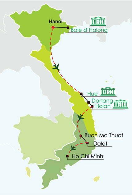 Circuit Vietnam 18 jours - les must du Vietnam et hauts plateaux du centre