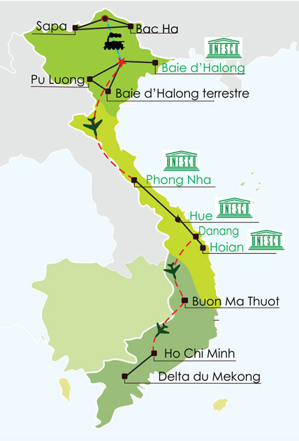 Circuit Vietnam 3 semaines - Grande traversée du Nord au Sud Vietnam