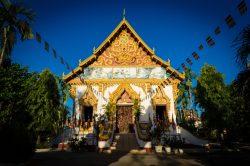 Temple coloré à Wat Phou