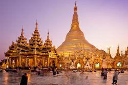 yangon birmanie temple d'or