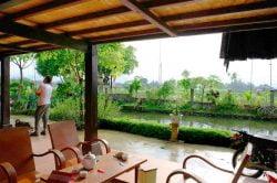 terrasse avec petit déjeuner chez l'habitant, Vietnam