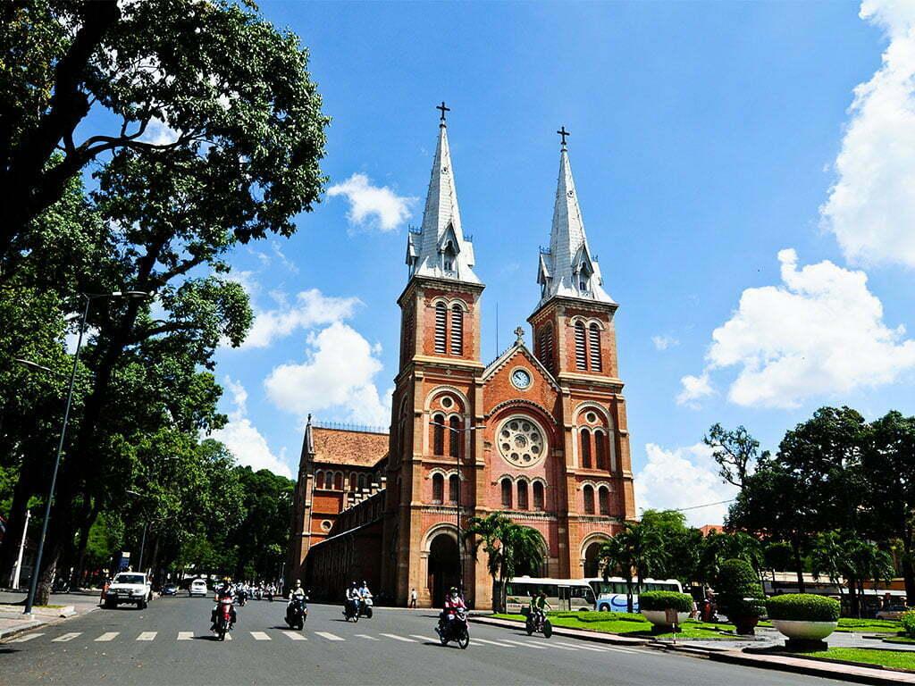 une église à Ho Chi Minh Ville