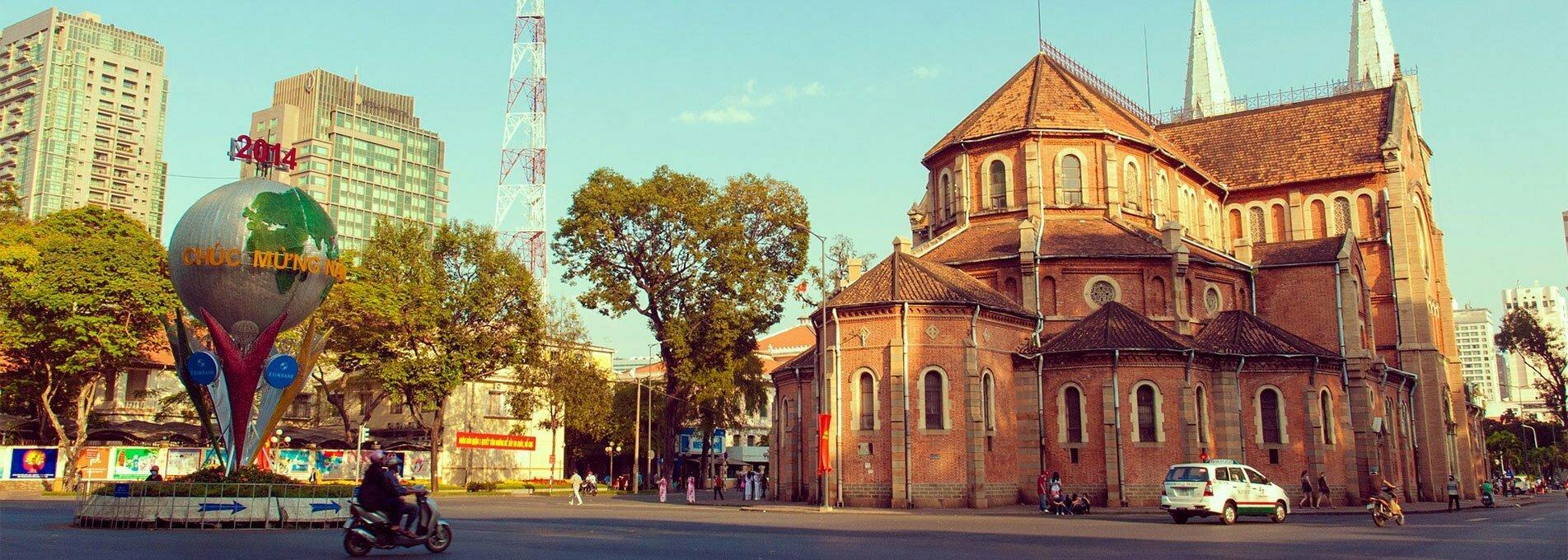 ho chi min ville et ses églises