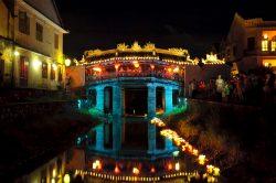Le très célèbre pont japonais de Hoi An