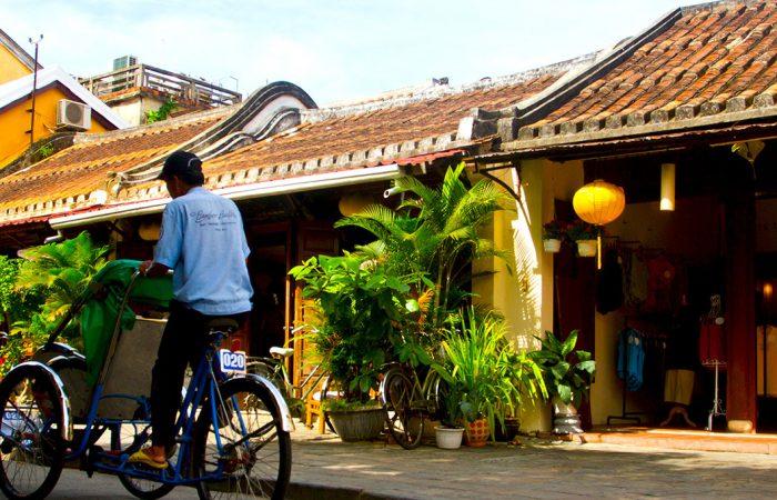 maisons jaunes à Hoi An
