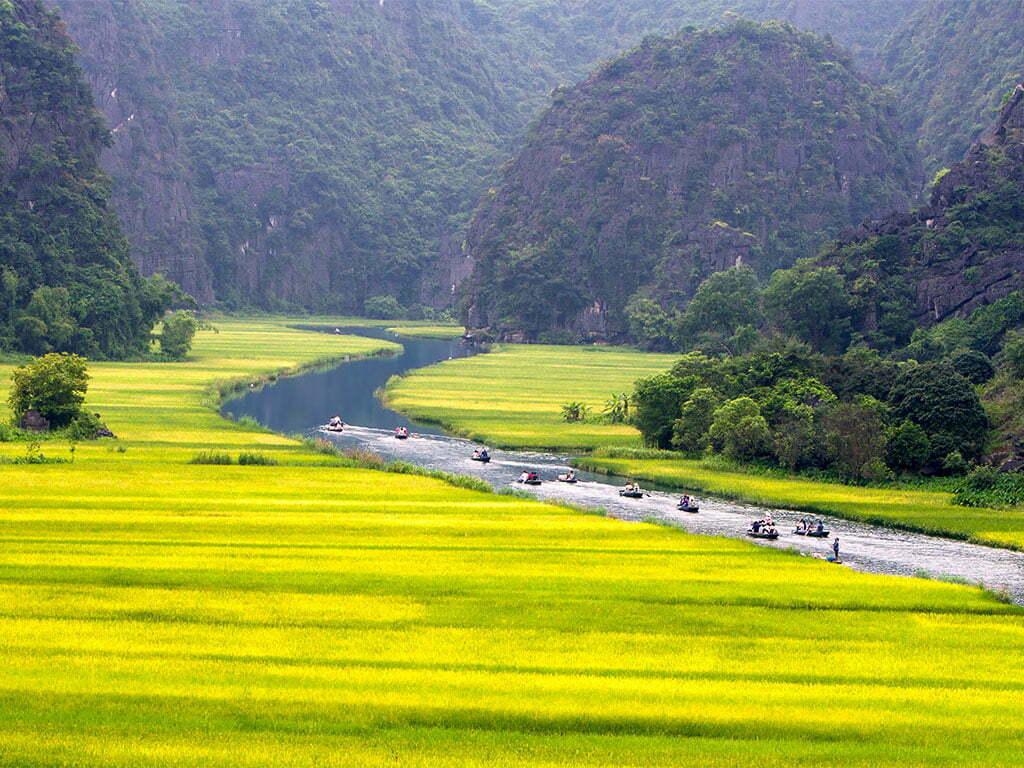 Beauté spectaculaire de Ninh Binh