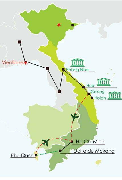 Circuit Laos Vietnam 22 jours - Hors des sentiers battus