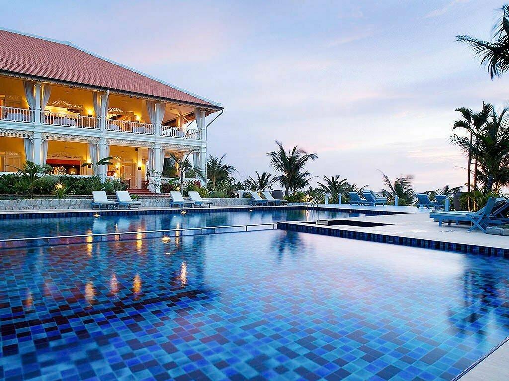 Villa, piscine et ciel bleu à Phu Quoc