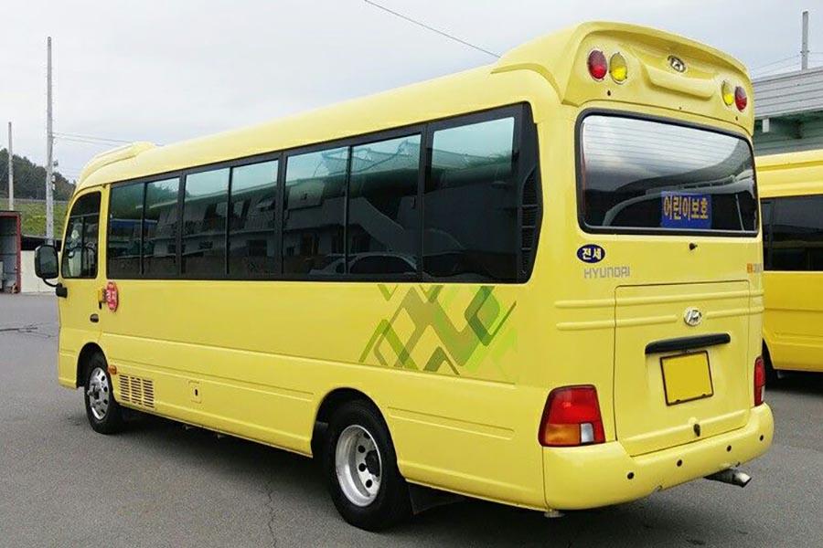 mini bus 24 personnes au Vietnam