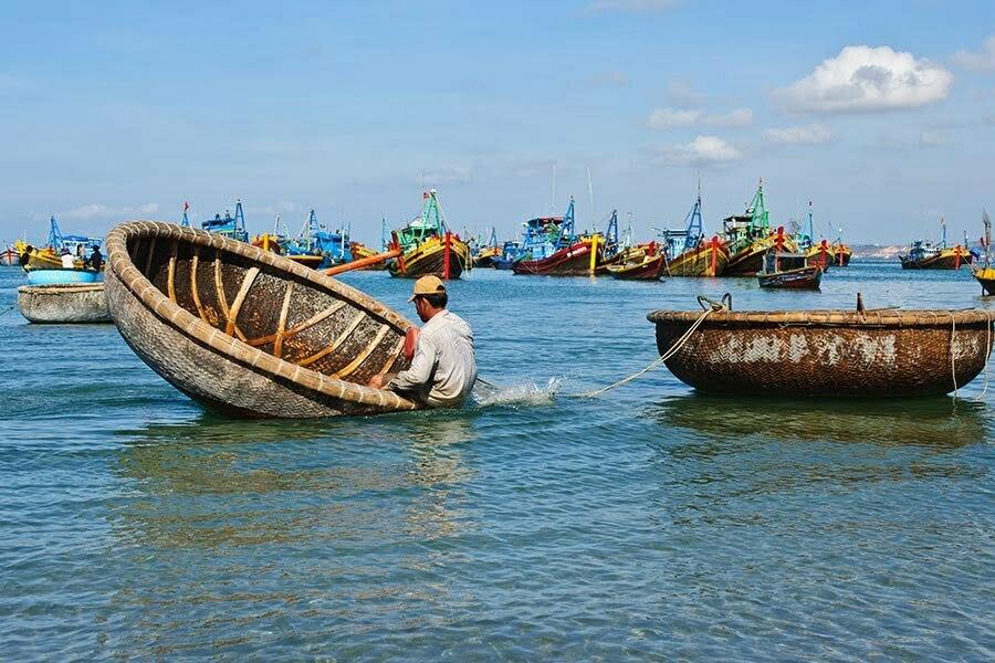 nha trang et ses pêcheurs