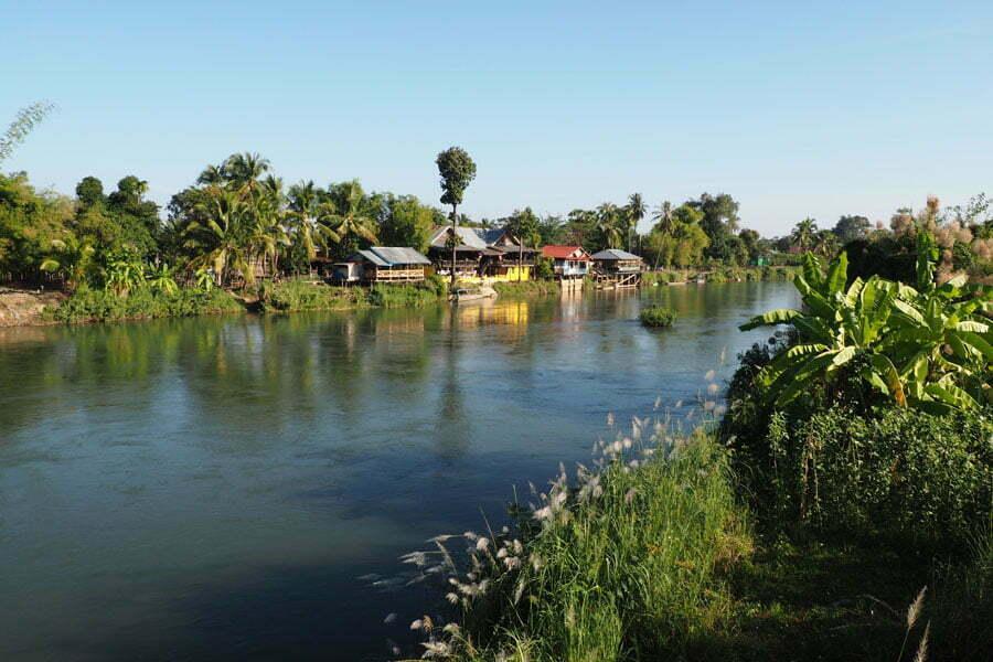 vue sur la rivière, 4000 îles, Laos