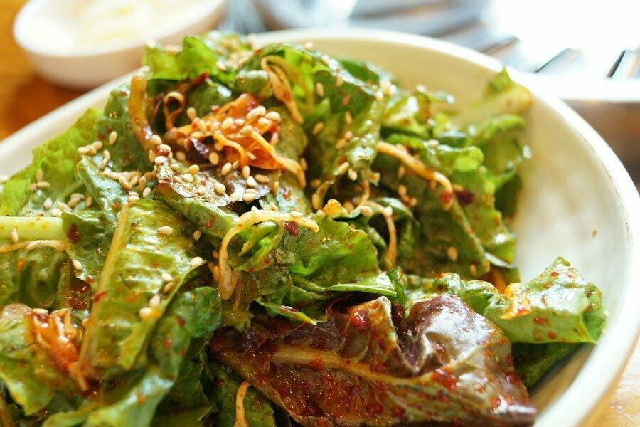 cuisine du Laos, salade composée