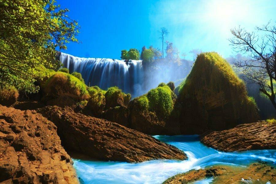 hauts plateaux et cascades vietnam