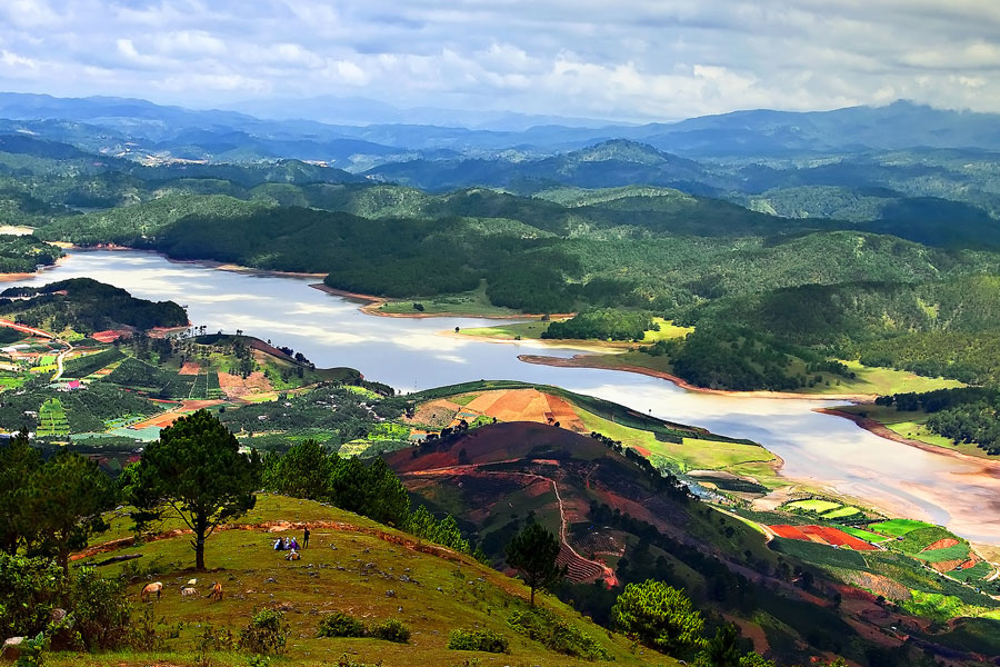 hauts plateaux vietnam