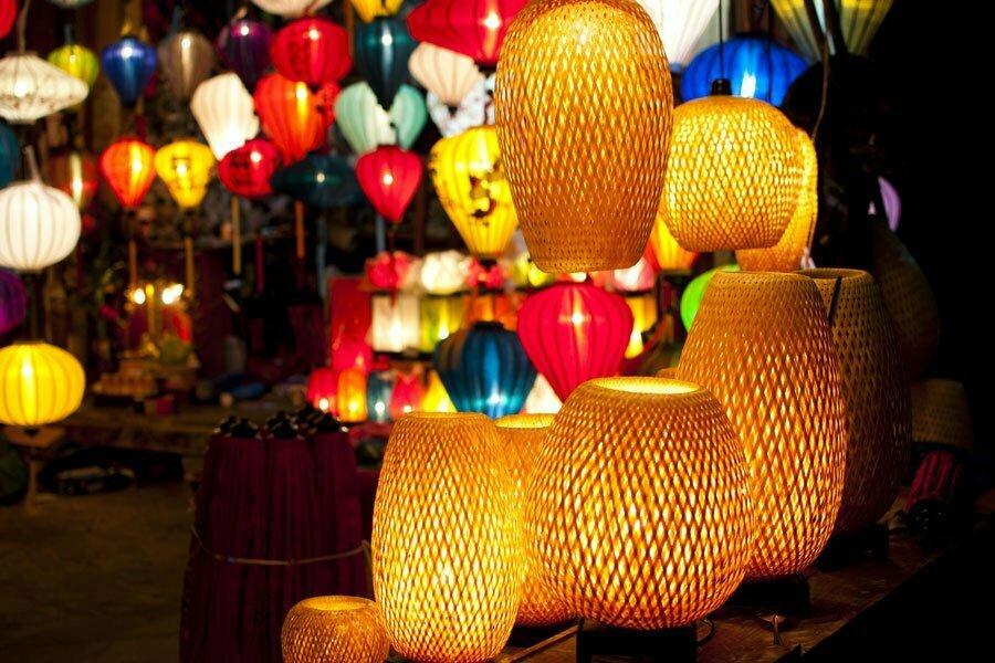 lanternes de Hoi An Vietnam