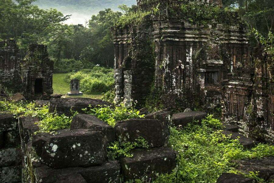 ruines de My Son Vietnam