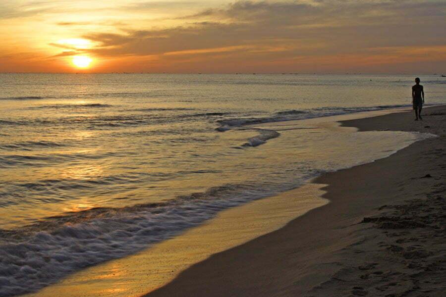 couché de soleil plage de phu cuoc