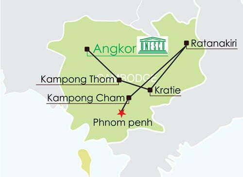 Circuit Cambodge 11 jours